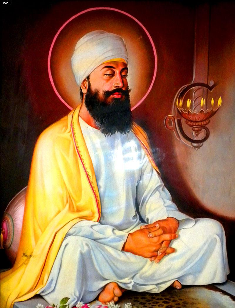 गुरु तेग़बहादुर सिंह जी को सिखो का नौवा गुरु बनाया गया।
