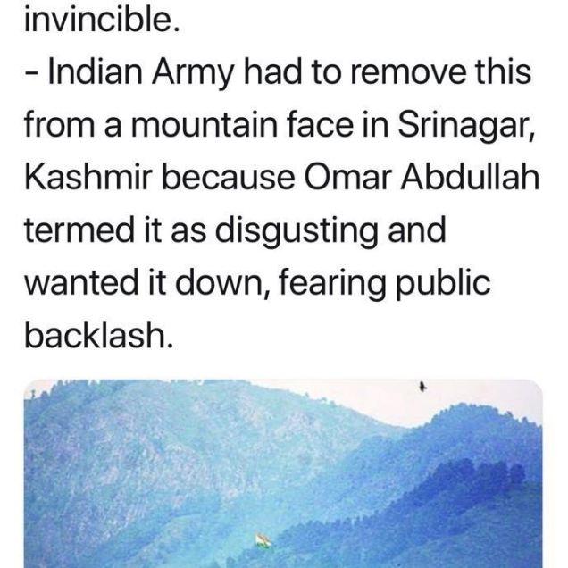WHAT A SHAMEFUL ACT OMER ABDULLAH